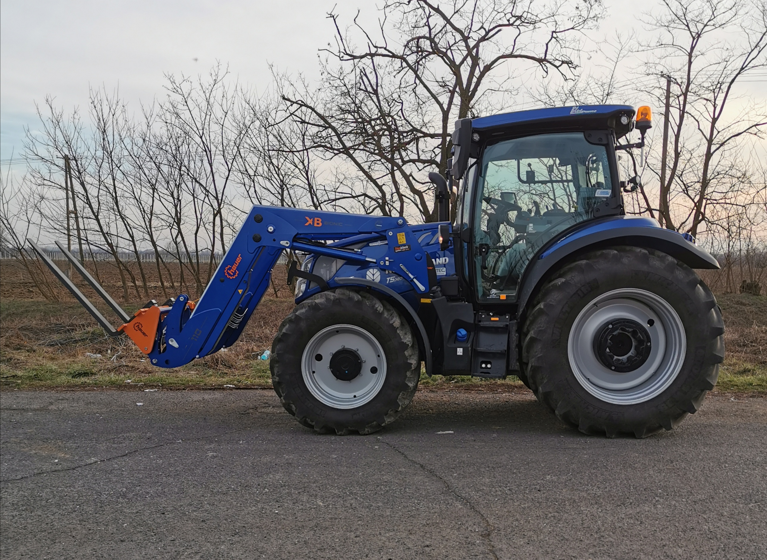 New Holland T5. 140